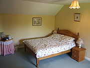 double room at Cross Farm, Ellastone